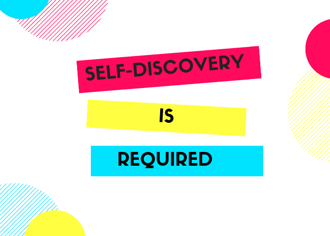 Self-DISCOVERY ever (5)