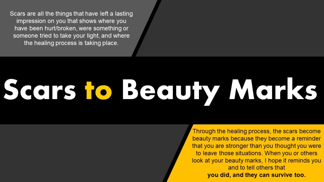 Scars To Beauty Marks 2